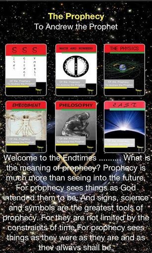 """Welcome to the Endtimes ... What is the meaning of prophecy?<p>Prophecy is much more than seeing into the future.     For prophecy sees things as God intended them to be. And signs, science and symbols are the greatest tools of prophecy. For they are not limited by the constraints of time.For prophecy sees things as they were as they are and as they always shall be.<p>*Six of seven books, of the """"Seven Trumpets of the Prophecy"""" are available for reading<br>*Educational videos, over one…"""
