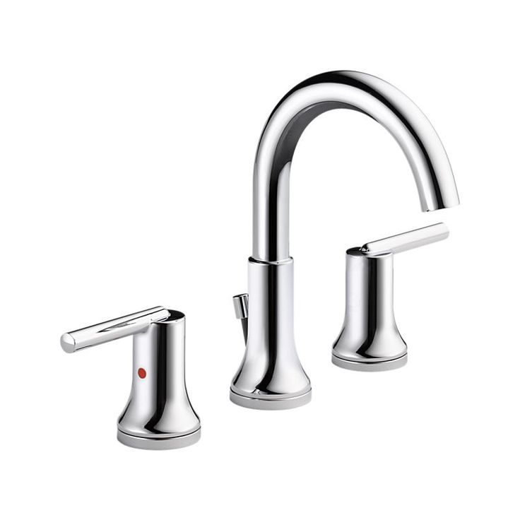 3559-MPU-DST Trinsic® Two Handle Widespread Lavatory - Metal Pop-Up : Bath Products : Delta Faucet