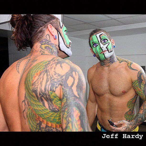 jeff hardy tattoos | Jeff Hardy By Recklessenigma On DeviantART