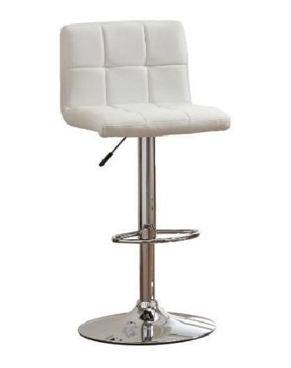 Furniture of America IDF-BR6904WH Tufted White Leatherette Adjustable Bar Stool  sc 1 st  Pinterest & Best 25+ Adjustable bar stools ideas on Pinterest | Ikea stool ... islam-shia.org
