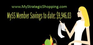 My Strategic Shopping saves families thousands on groceries in just the first month.
