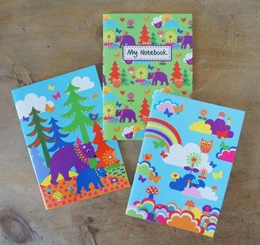Notebook Set Magical Forest. Design Sara Vestberg