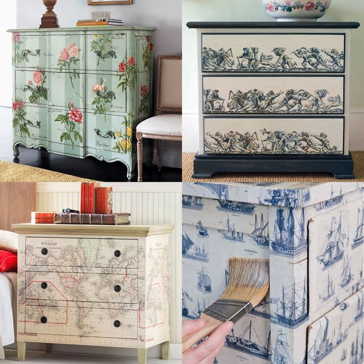 decoupage ideas for furniture. furniture art expressions ltd maureen beat decoupage ideas for