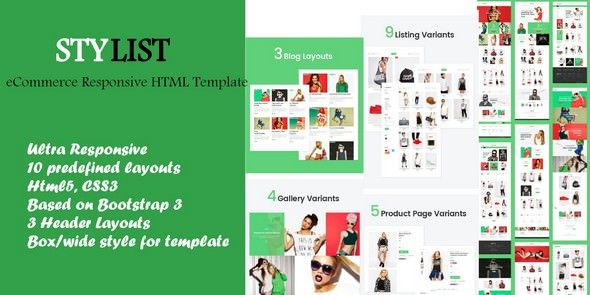 The best ultimate eCommerce design user experience html 5 template made with bootstrap 3. Easy to use and will save developer time for custom eCommerce projects. This is 100% responsive and Suitable for fashion electronics kids health care sports jeweler and furniture online shopping website.  Live Preview  Download