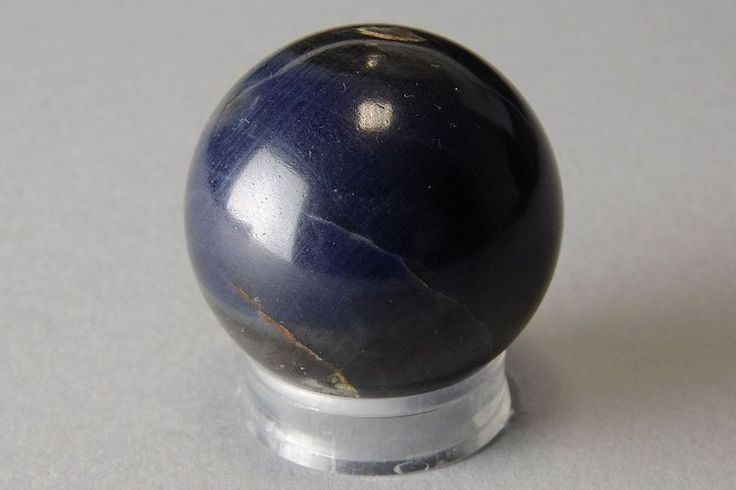 Minerali °°° FANTASTICA e PREZIOSA SFERA ZAFFIRO 3,4 cm (Code: SZ65)