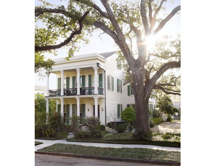 CURB APPEAL Southern Hospitality Julia Reeds House In New Orleans Interior Design By Thomas Jayne Of Studio Landscape Ben Page