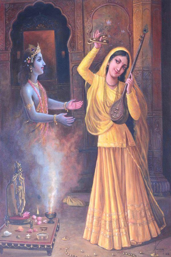 Meera bai - Krishna by Reseller Keshav Singh