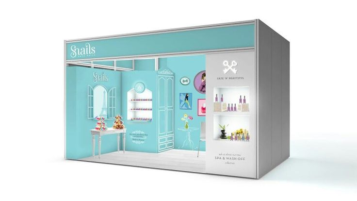 Snails safe-nails.com expo stand