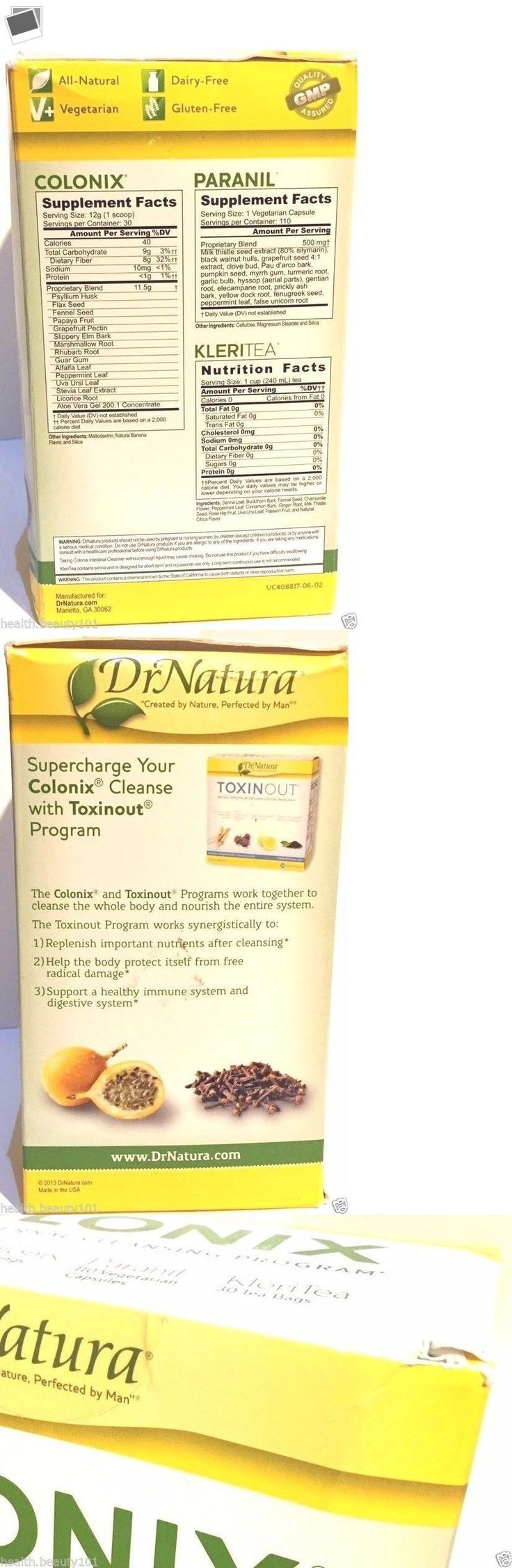 Detox and Cleansers: Dr. Natura Colonix Colon Cleanse 30 Day Program Natural Liver Detox 02-28-18 Exp -> BUY IT NOW ONLY: $85 on eBay! #LiverDetoxProgram