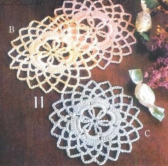 10 id es propos de dessous de verre au crochet sur pinterest crochet crochet et id es de. Black Bedroom Furniture Sets. Home Design Ideas