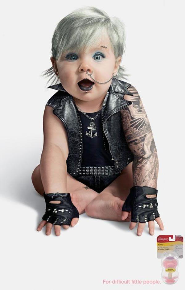 Yakuza Girl Outfit Punk Rock Baby Playtex...