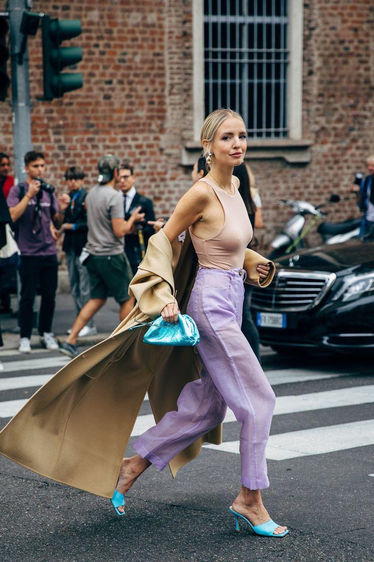 MFW Day 3 | Cool street fashion, Fashion week street style, Street style summer