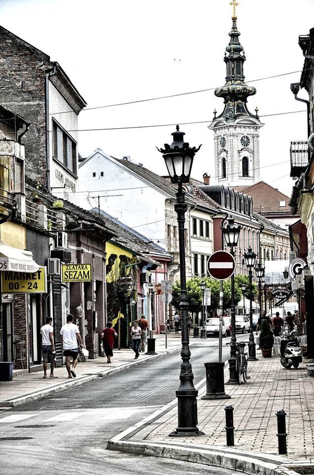 Pasiceva street, Novi Sad, Serbia