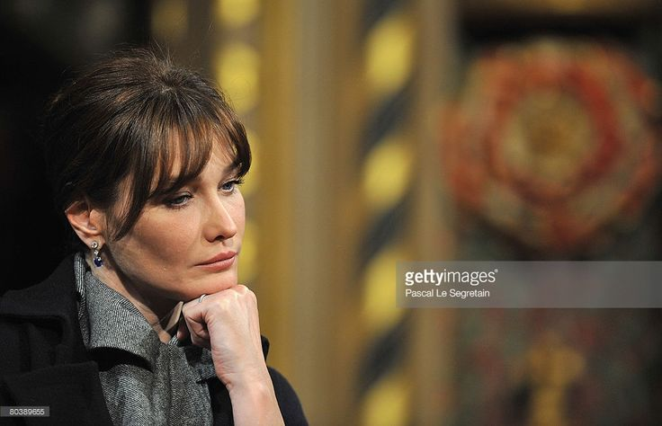 Carla Bruni-Sarkozy attends as French President Nicolas Sarkozy delivers a speech to the UK parliament on March 26, 2008 in Westminster Palace, London, England. President Sarkozy and Carla Bruni-Sarkozy are on a two day state visit to the United Kingdom, comprising events in London and Windsor.
