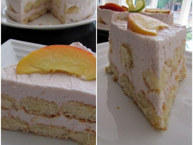 Rețetă Desert : Tort cu piscoturi si crema de iaurt de Just me