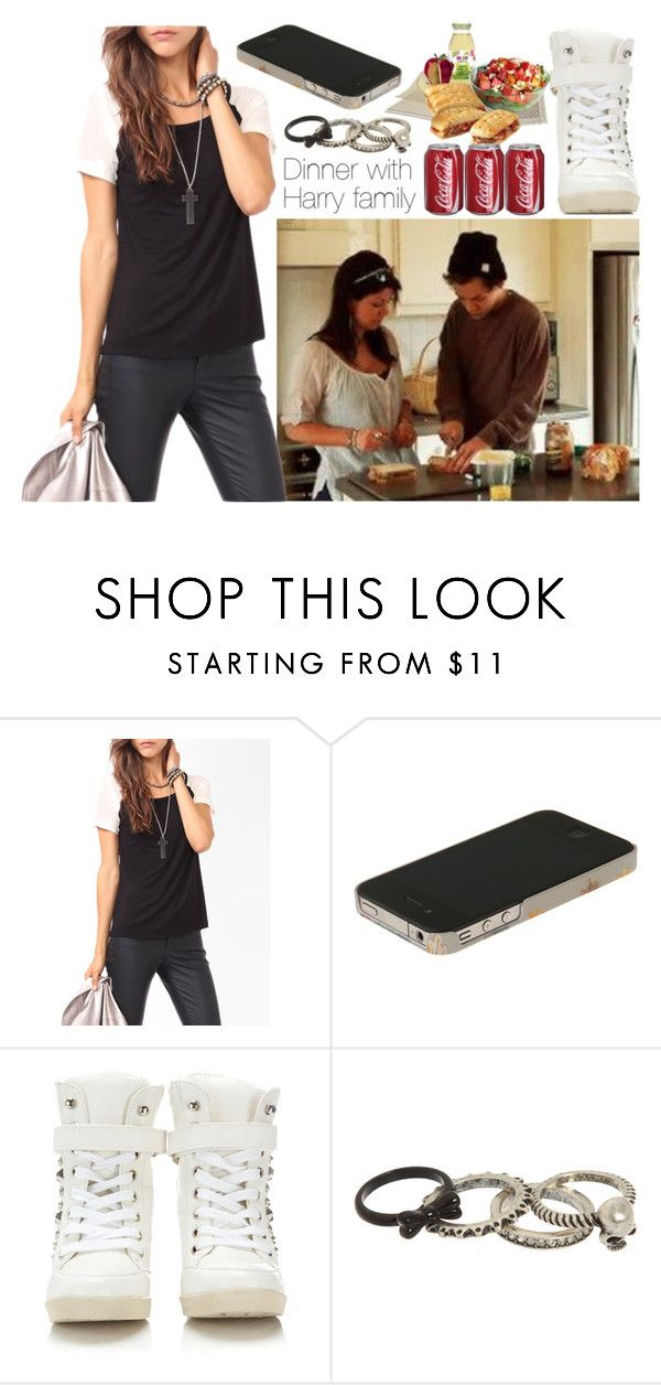 """Dinner with Harry family"" by dianita-cris ❤ liked on Polyvore featuring Forever 21, Swash and Wallis"