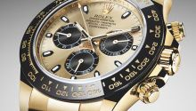 Hands-on review & original photos of the Rolex Cosmograph Daytona 116508 watch with price, background, specs, & expert analysis.