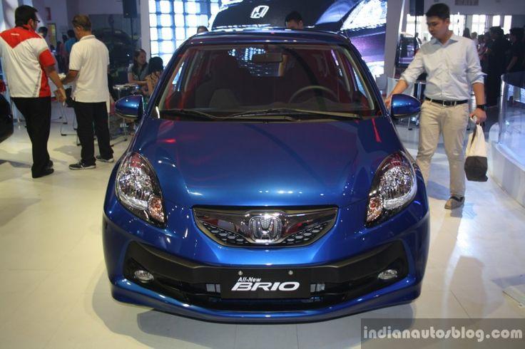 Honda Brio Tampak Dari Depan ~ http://iotomagz.net/honda-brio-akan-keluarkan-generasi-ke-duanya-dengan-3-silinder/