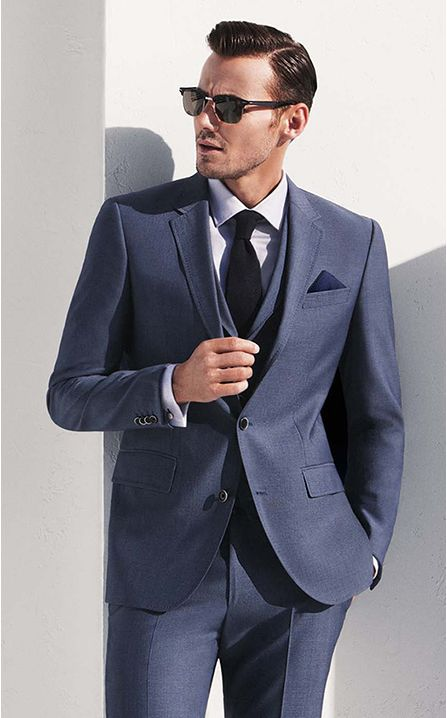 Timeless chic from Hugo Boss | Men's Fashion | Menswear | Stylish and Sophisticated | Moda Masculina | Shop at designerclothingfans.com