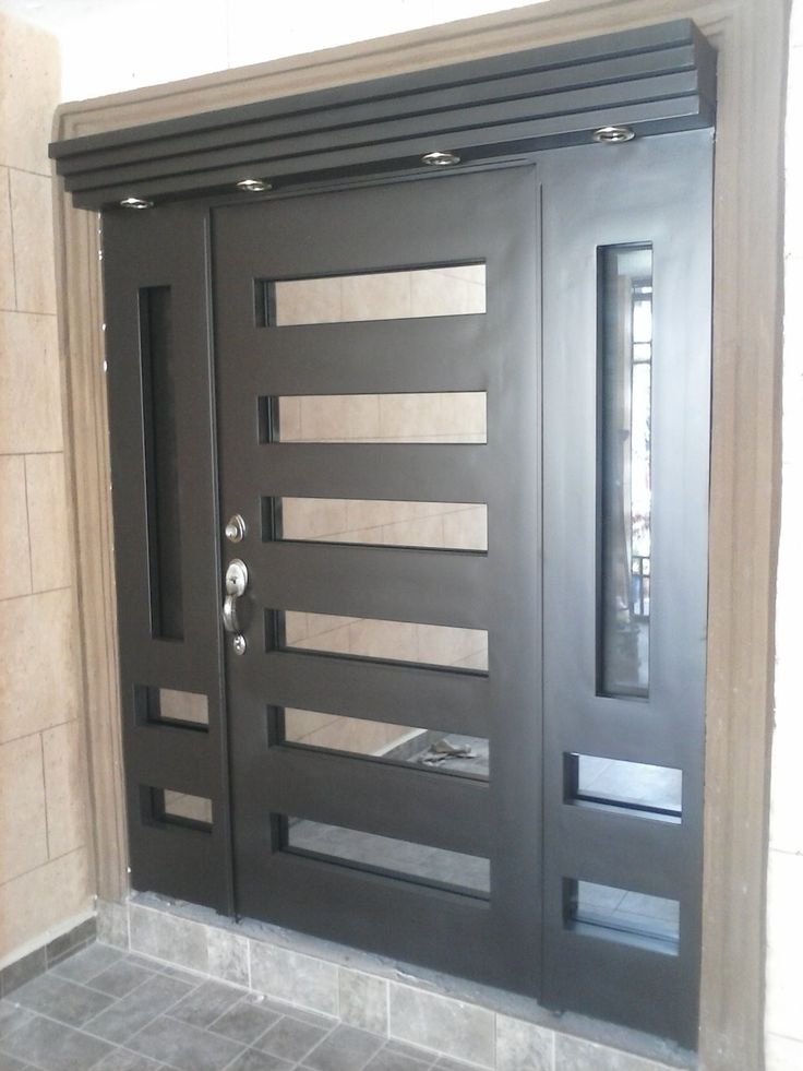 Modelos de puertas metalicas para casas great bonita - Puertas metalicas para casas ...