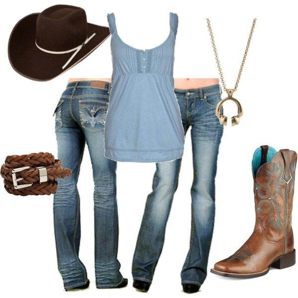 Cowgirl casual