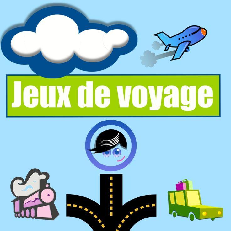 Jeux de voyage est un pack complet pour occuper les enfants en voiture, en train ou en avion : fini les trajets monotones et ennuyeux, place au plaisir !