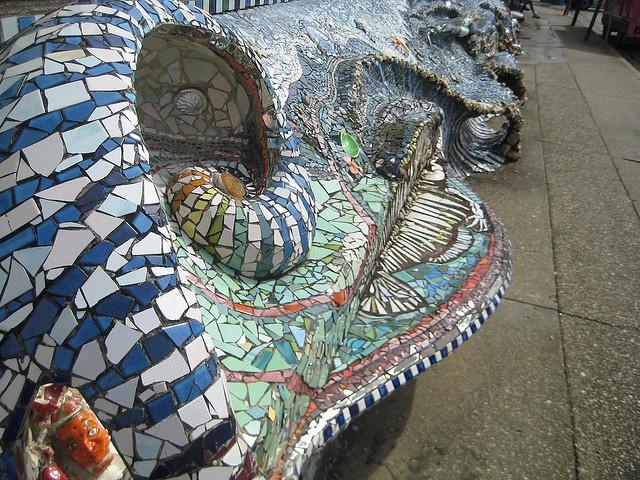 mosaic in Nambucca Heads