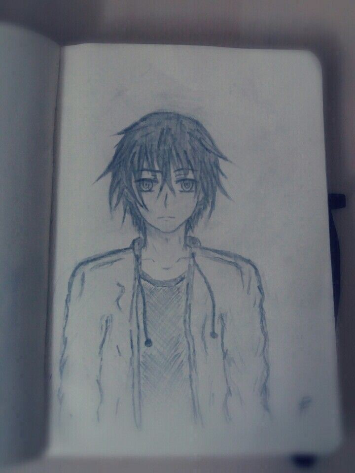 My First Drawing Not Based On Real Anime/Manga Characters