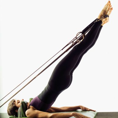 I am going to get so damn good with my pilates... that I am going to achieve this position someday....