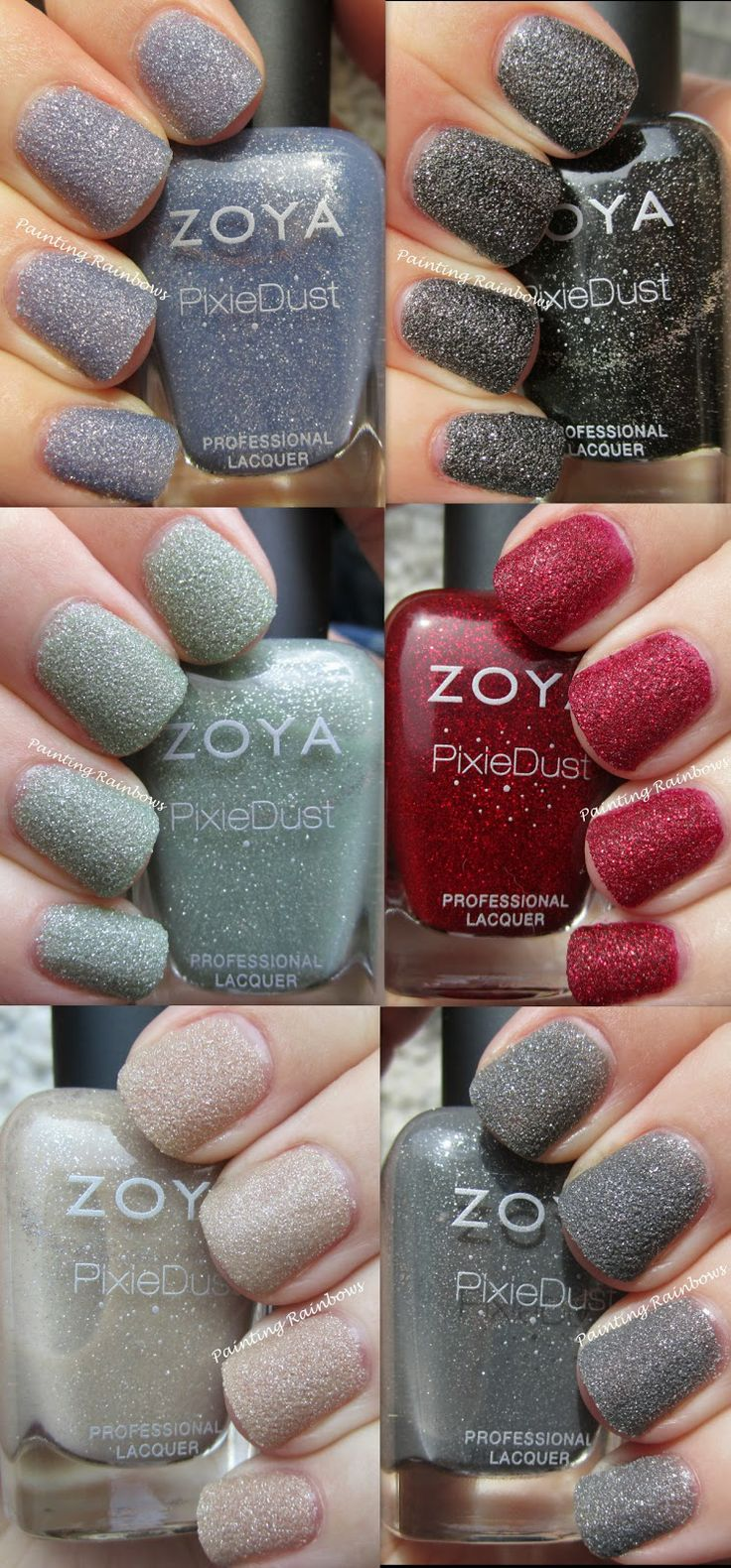 This is my favorite line of polishes right now. They require no base or top coat and are super easy to apply. ~The Veganista Foodie