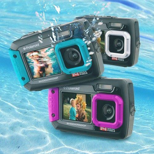 Polaroid PDC776 Camera | 14 Mega Pixel | Waterproof Digital Camera | Dual Screen | Homemark | Your mark of quality