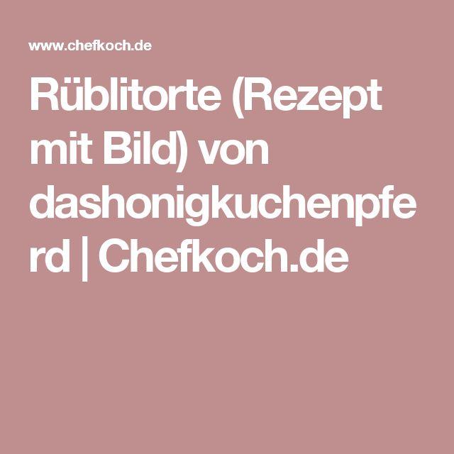 Rüblitorte (Rezept mit Bild) von dashonigkuchenpferd | Chefkoch.de