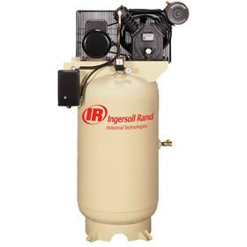 Ingersoll Rand 5-HP 80-Gallon Two-Stage Air Compressor (208V 3-Phase)