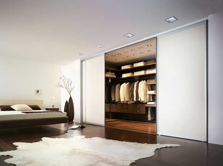 Simply amazing. Note the lighting detail. The 'Space System' walk-in wardrobe by Wackenhut. (Click on photo for high-res. image.) Originally shown here: http://www.campbellwatson.co.uk/superbasket/product/15039/Space+System+walk-in+wardrobe+Wackenhut