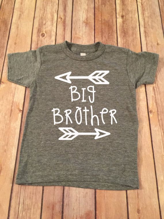 Big Brother Shirt Little Brother Shirt Personalized от SnowSew