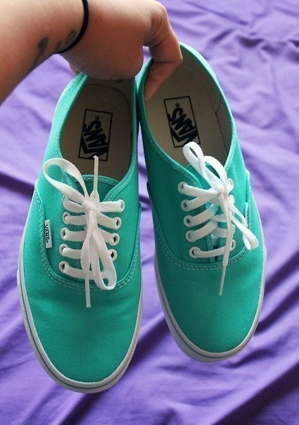 teal vans!! I want so bad!
