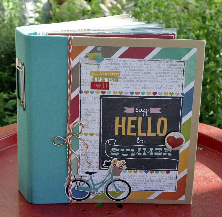 Simple Stories SN@P! Binder with I Heart Summer - Scrapbook.com