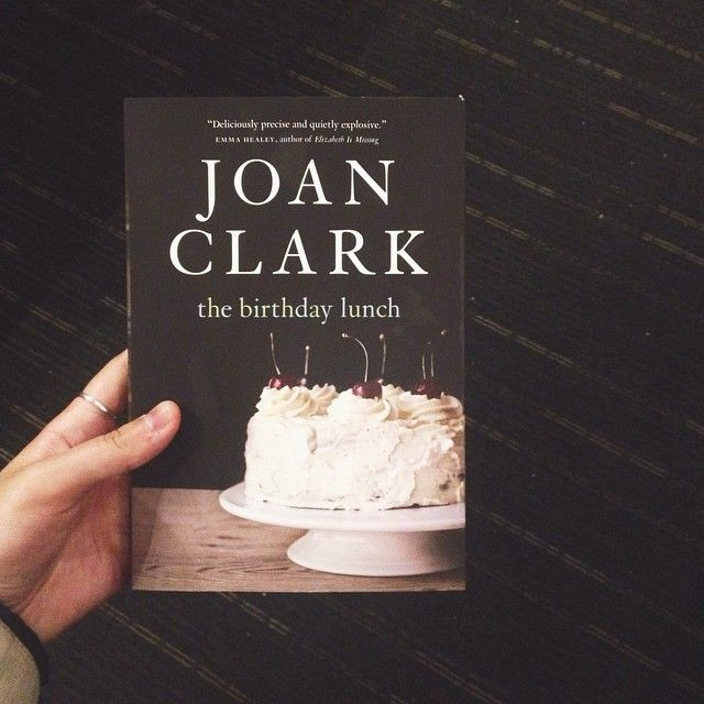 The Birthday Lunch by Joan Clark (Knopf Canada) #CanLit