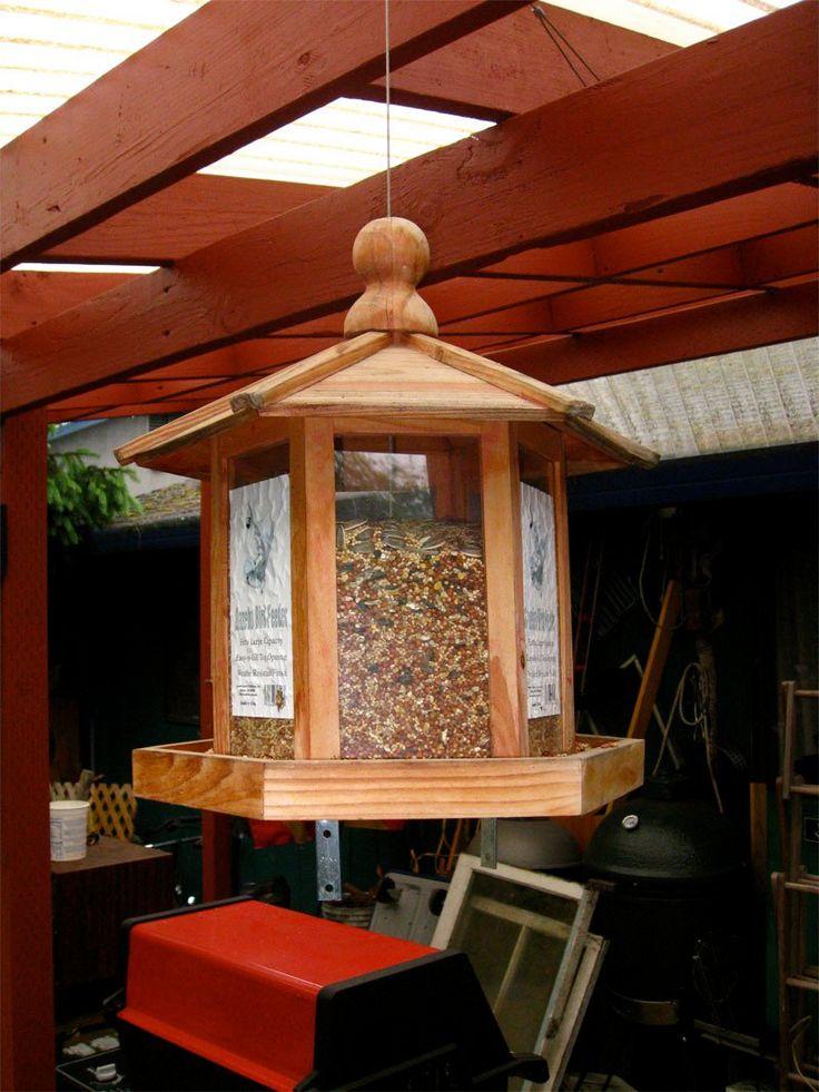 wooden bird feeders for sale