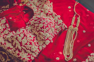 red lehenga, pink lehenga, bridal lehenga, red and gold lehenga, bright red lehenga