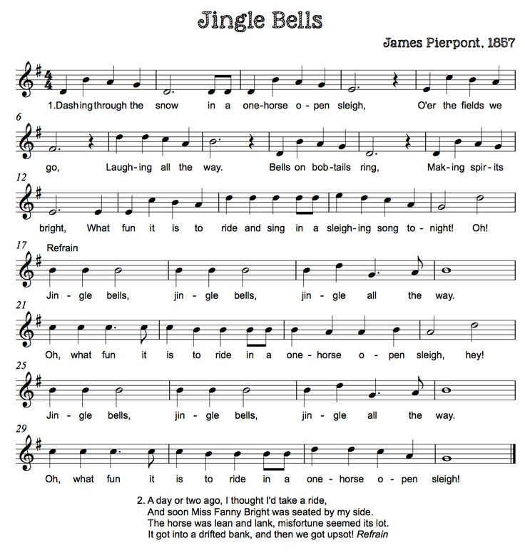 Beth's Music Notes: Christmas Songs