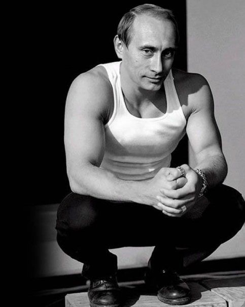 If he put this on Grindr, my God, his in-box would crash. | The 16 Most Homoerotic Photos Of Vladimir Putin: