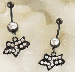 Monis Bows N More Clear Monster Belly Button Ring 8 50 Http