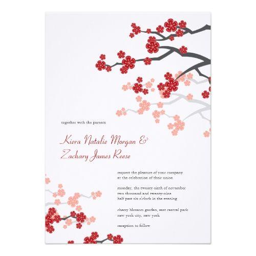 679 best ORIENTAL WEDDING Invitations images on Pinterest Oriental
