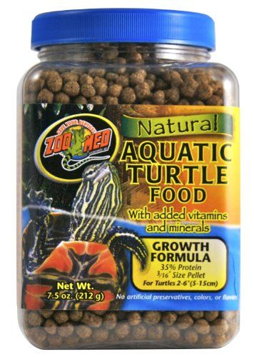 Zoo Meds new Gourmet Aquatic Turtle Food adds a nice high protein treat to your turtles diet with the addition of dried shrimp and mealworms. We also add whole cranberries which are a natural food ite...