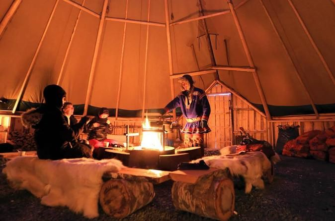 https://www.tripadvisor.co.uk/AttractionProductDetail-g190475-d11480974-Reindeer_Camp_Dinner_with_Chance_of_Northern_Lights_in_Tromso-Tromso_Troms_Northern_Norway.html