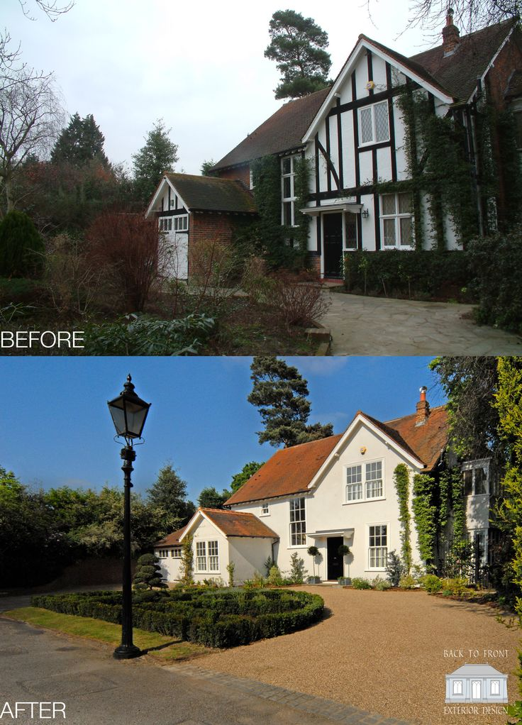 Traditional gem remodelled from a mock tudor disaster. This beautiful home is a favourite here at Back to Front HQ. With the rendered exterior and gorgeous sash windows - how could you not fall in love with this dream home?