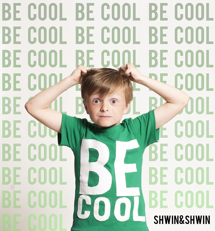 Shwin&Shwin: Be Cool Tee || A Fashionable Type Series