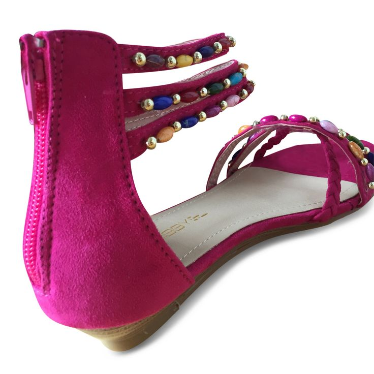 """DAY"" Fuxia. www.caribbyshoes.com"