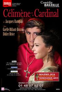Célimène et le Cardinal, théâtre Comédie Bastille